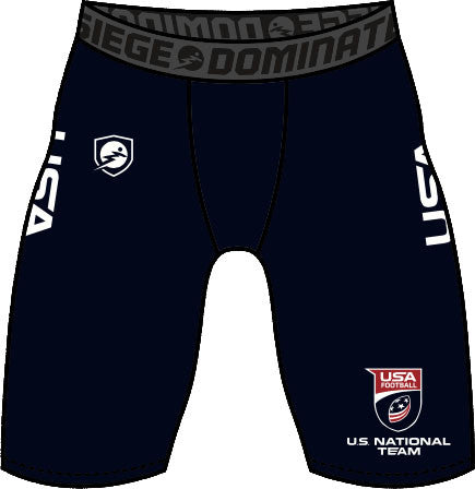 U.S. National Football Team Speed Compression Shorts