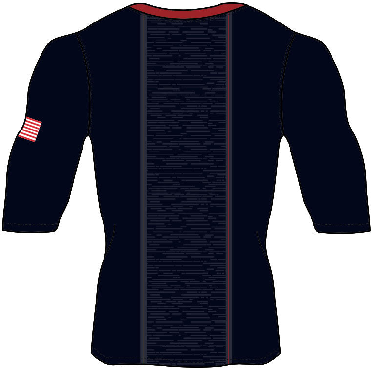 U.S. National Football Team Half-Sleeve Speed Compression Top