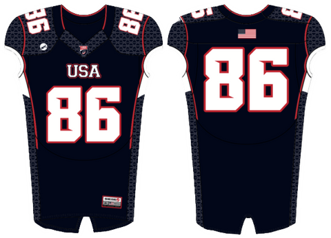 2016 U.S. National Football Team Development Games Game-Worn Jersey