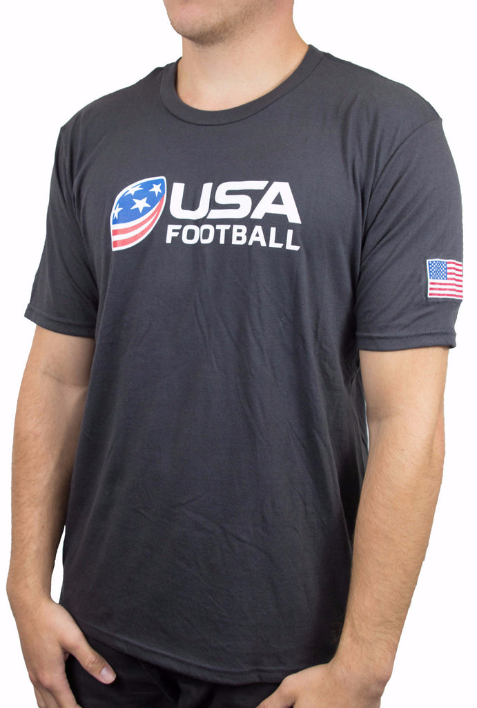 USA Football Perfect Blend Crew Tee