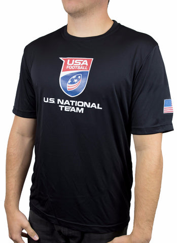 U.S. National Football Team Performance Shirt - Black