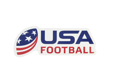 USA Football Die-Cut Decal