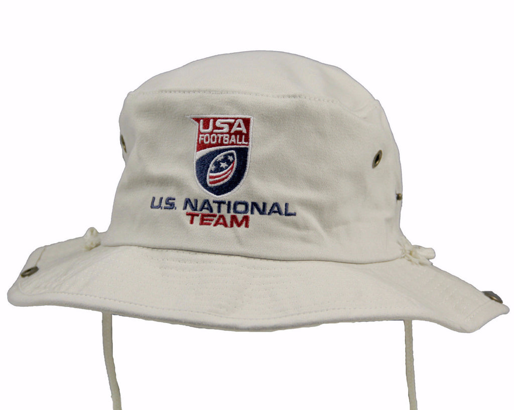 U.S. National Football Team Embroidered Bucket Hat
