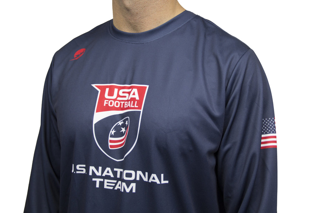 U.S. National Football Team Graphic Long Sleeve Performance Shirt