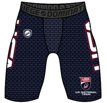 U.S. National Football Team Speed Compression Shorts - Original