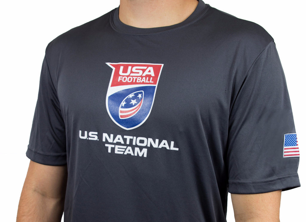 U.S. National Football Team Performance Shirt - Iron Gray