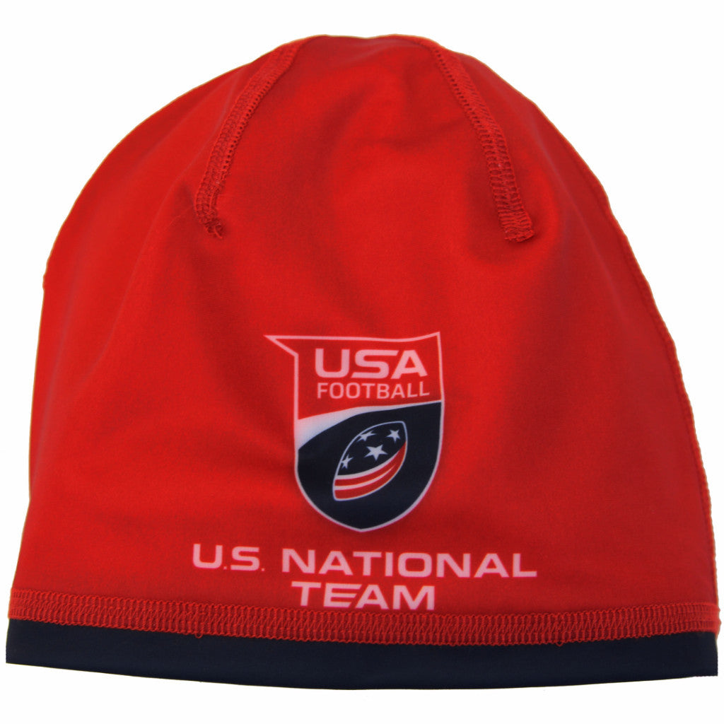 U.S. National Football Team Skull Cap - Red