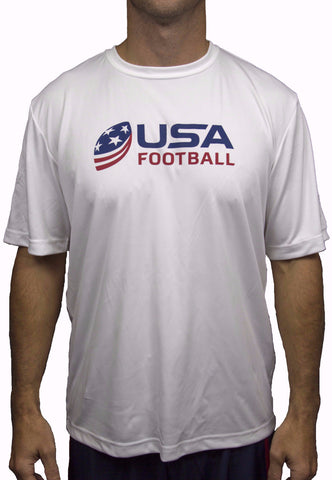 USA Football Performance Shirt - White