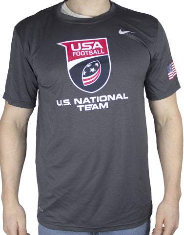 Nike Dri-Fit U.S. National Football Team Performance Shirt - Gray