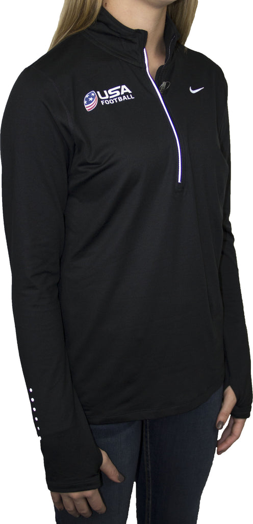 Nike USA Football Women's Element Half-Zip