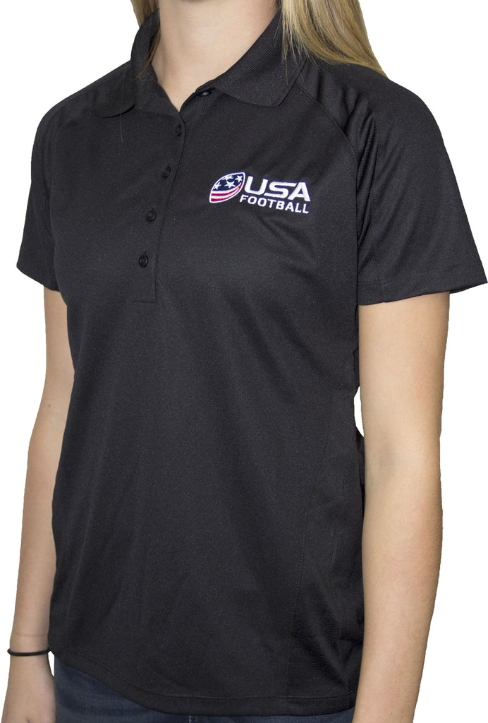 Women's Polo - Black