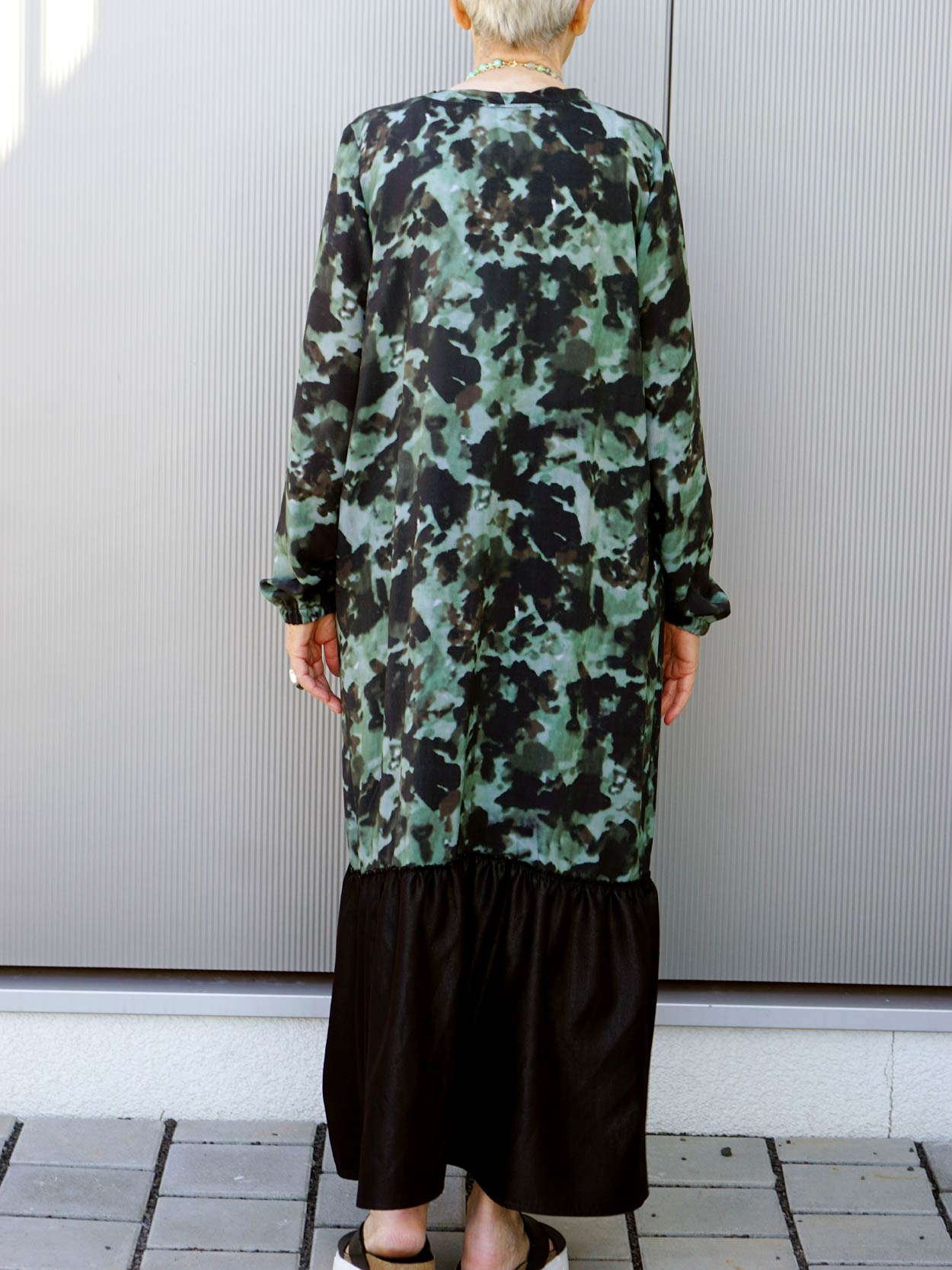 Kleid in Camouflage