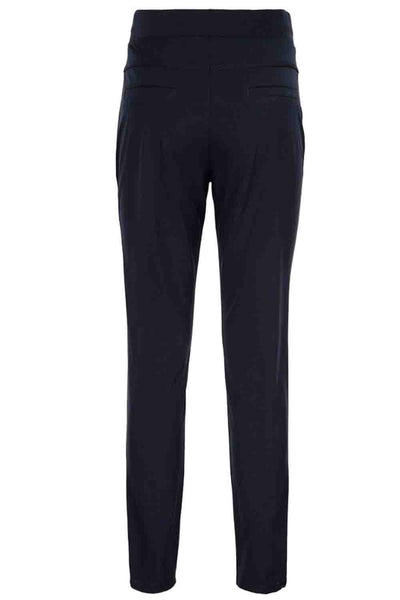Travel Pants Peppe Navy | &Co Woman