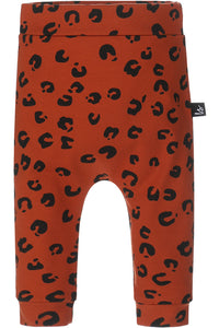 Broekje Panter Print Roest | Babystyling