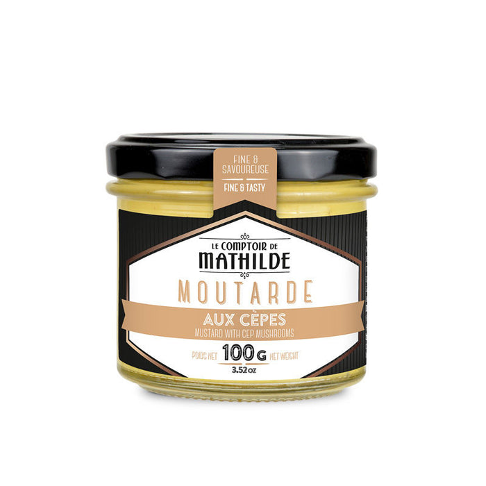Moutarde aux cèpes - COMPTOIR DE MATHILDE