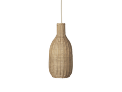 Braided Bottle Lamp Shade - Natural FERM-100450206