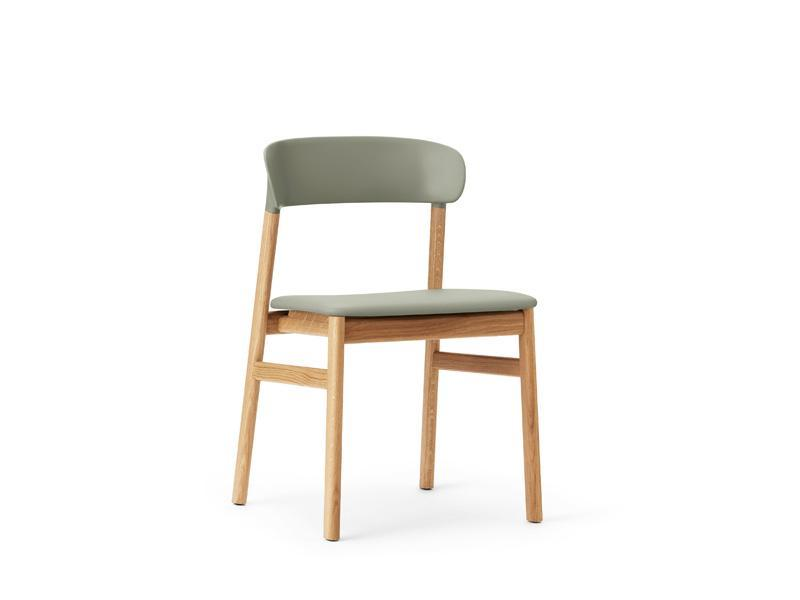 Herit Chair Wood Base Upholstery