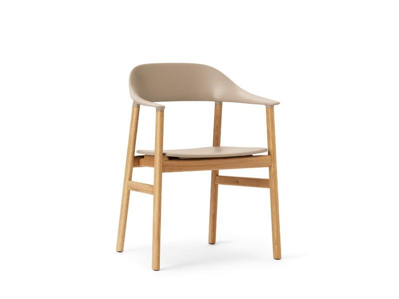 Herit Armchair Wood Base