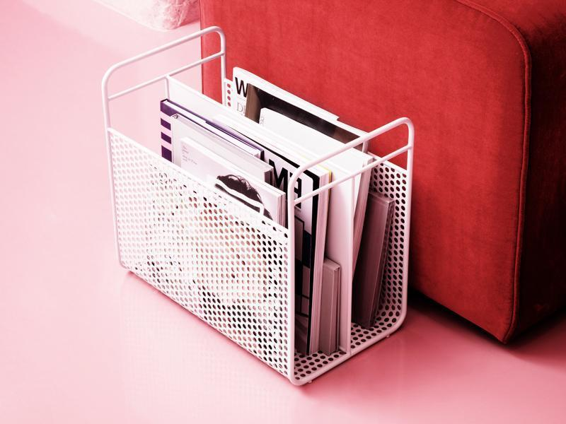 Analog Magazine Rack