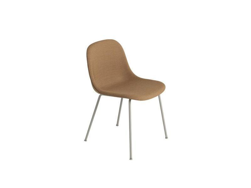 Fiber Side Chair Tube Base Full Upholstery