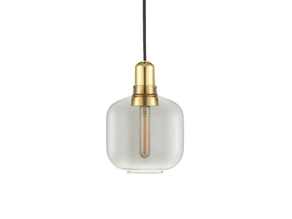 Amp Lamp Small Brass