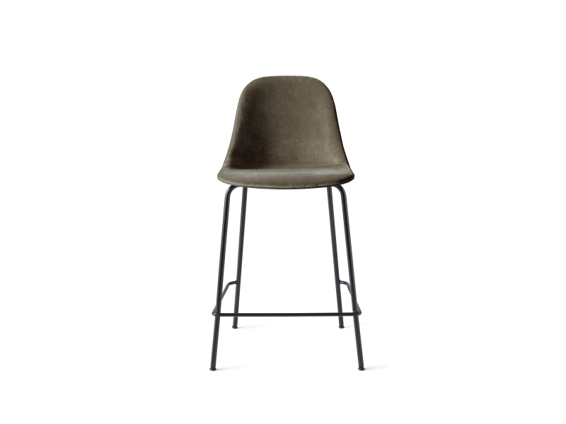 Harbour Side Counter Chair Steel Base Full Upholstery MENU-9290002