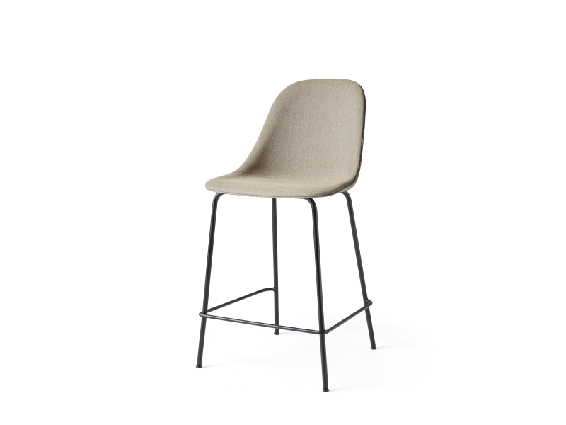 Harbour Side Counter Chair Steel Base Full Upholstery MENU-9290001