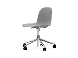 Form Chair 5W Gaslift Swivel Base Full Upholstery
