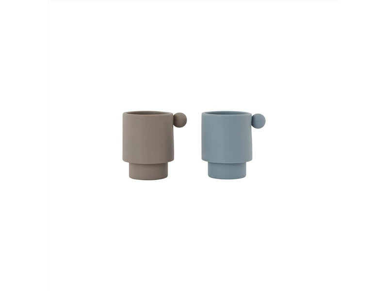 TINY INKA CUP SET OF 2  ☺