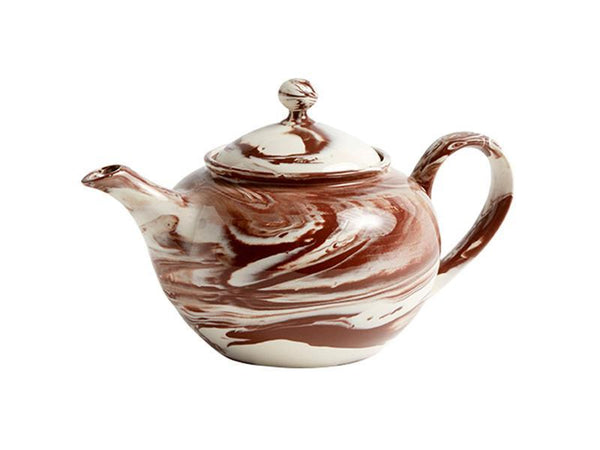 MARBLED TEAPOT