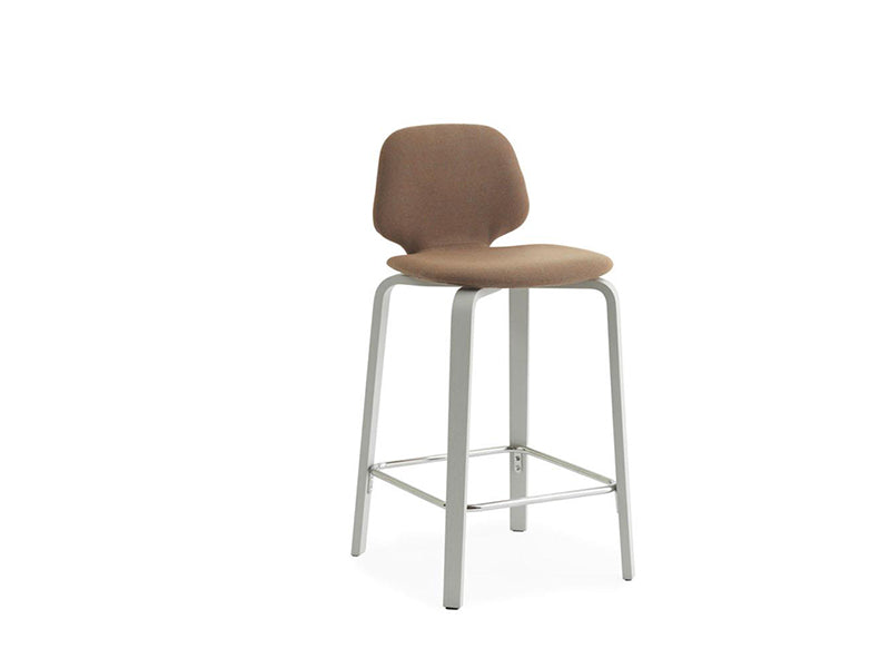 My Chair Barstool Wood Base 65 Full Upholstery