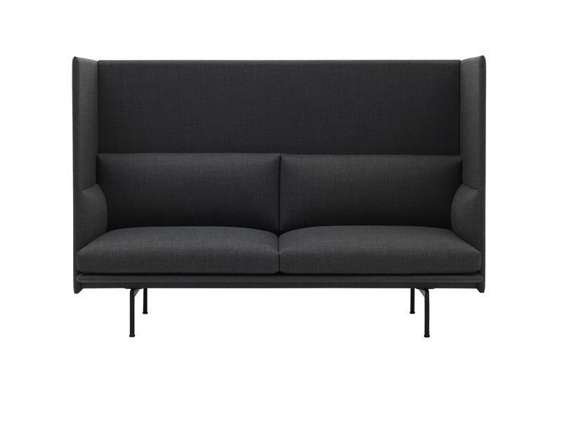 Outline Highback Sofa 2 Seater