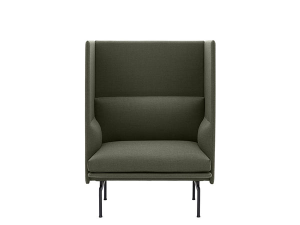 Outline Highback Sofa 1 Seater