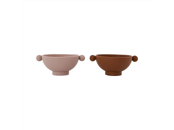 TINY INKA BOWL SET OF 2  ☺