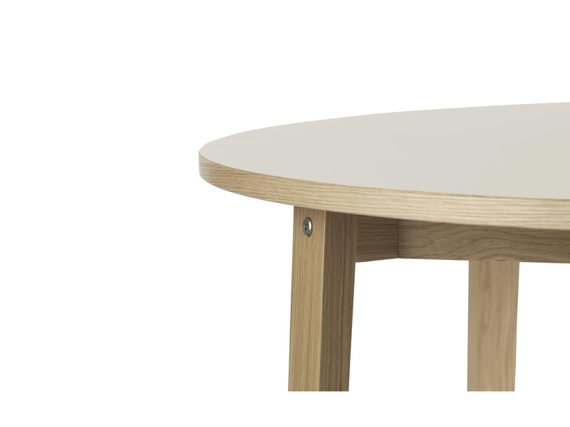 Slice Table Round Linoleum