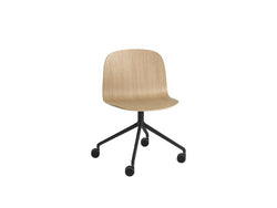 Visu Wide Chair Swivel Base W. Castors