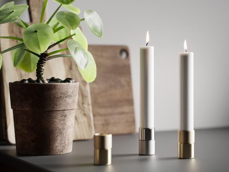 ELEMENTS CANDLEHOLDER