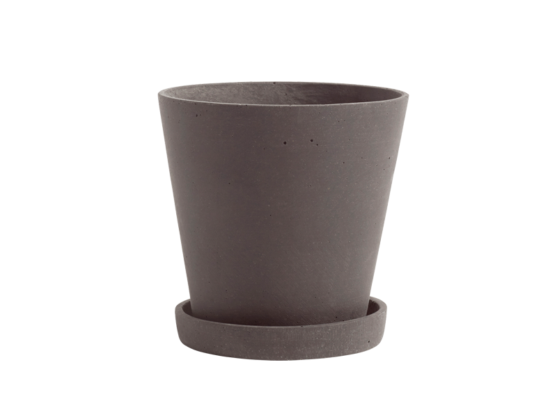 FLOWERPOT WITH SAUCER HAY-506684