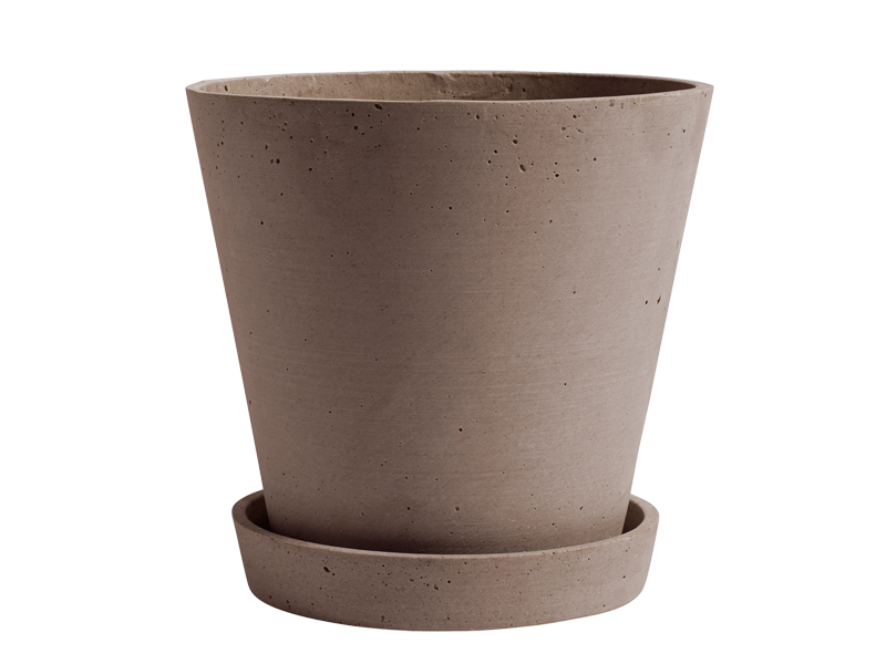 FLOWERPOT WITH SAUCER HAY-503602