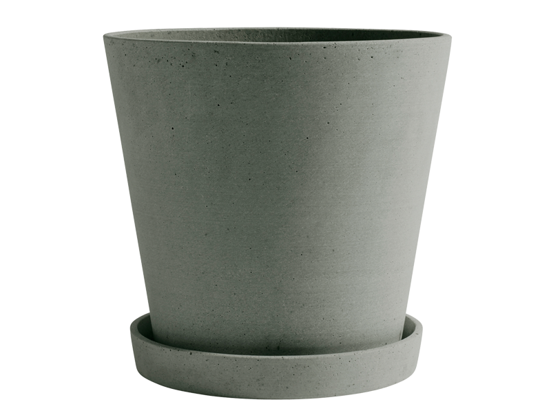 FLOWERPOT WITH SAUCER HAY-506672