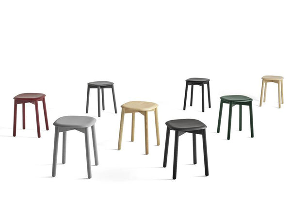 SOFT EDGE 72 STOOL WOOD FRAME