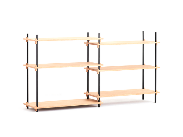 SHELVING SYSTEM - DOUBLE COLUMN LOW