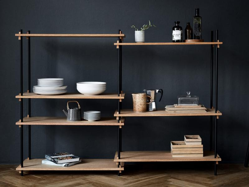 SHELVING SYSTEM - DOUBLE COLUMN MEDIUM