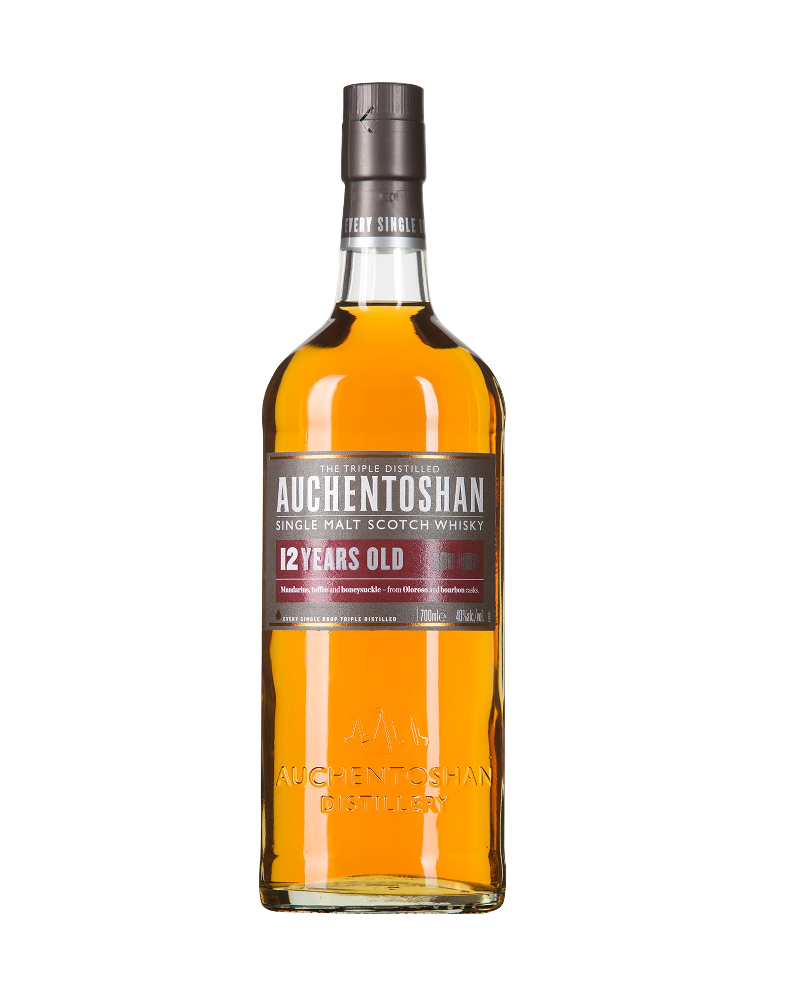 Scotch Whisky single malt Auchentoshan 12 ans d'âge