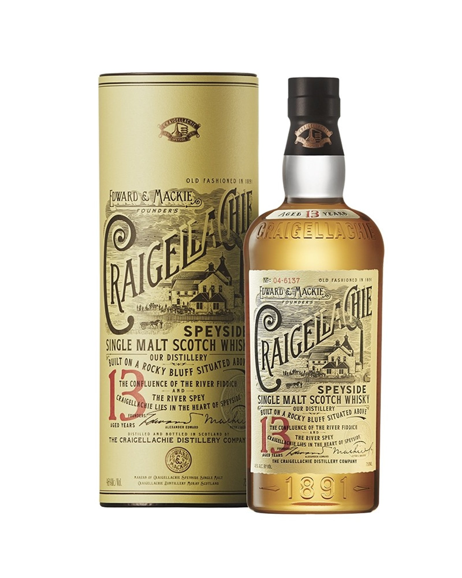 Scotch whisky single malt Craigellachie 13 ans d'age 70cl