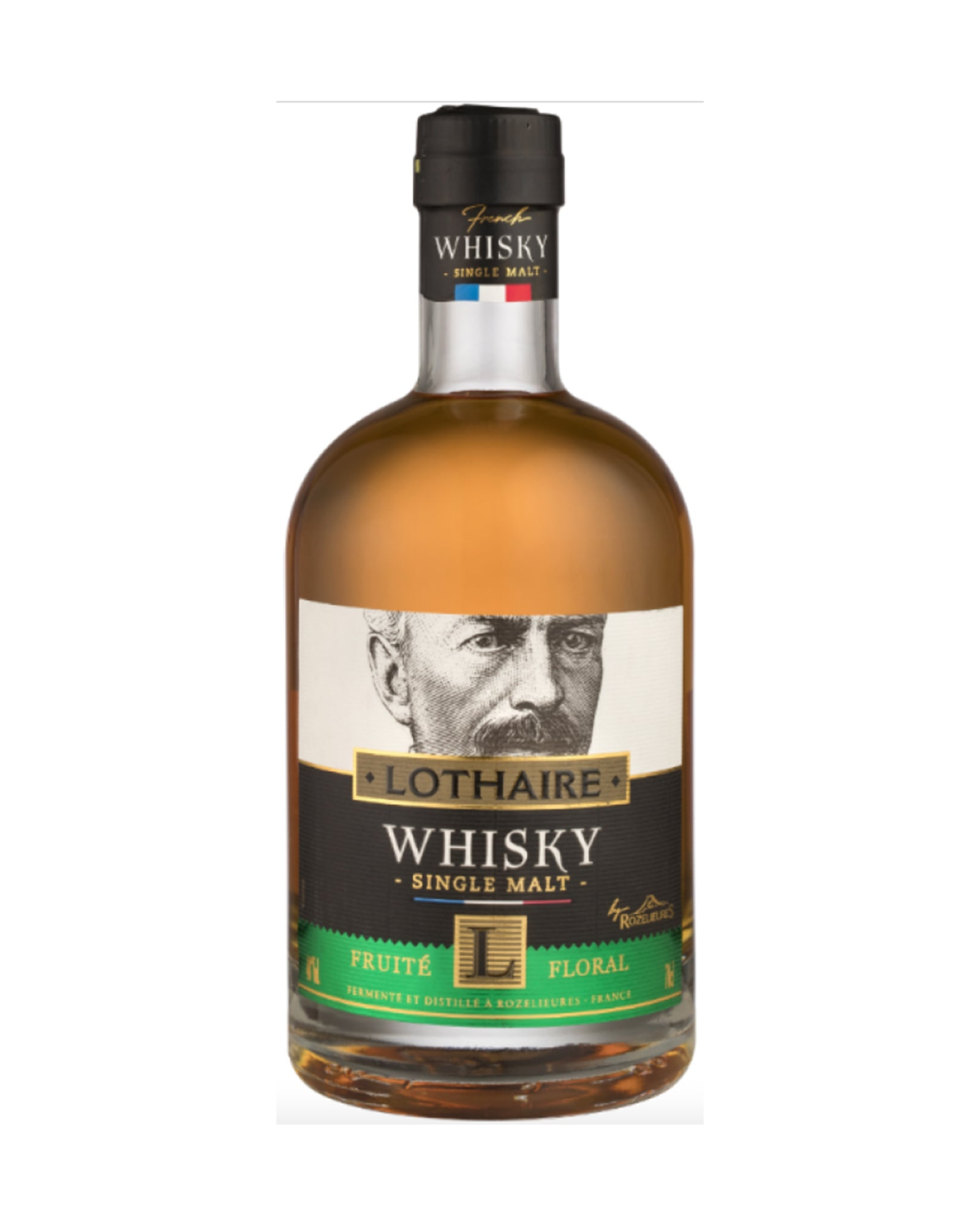 Whisky français single malt Lothaire fruité floral 70cl