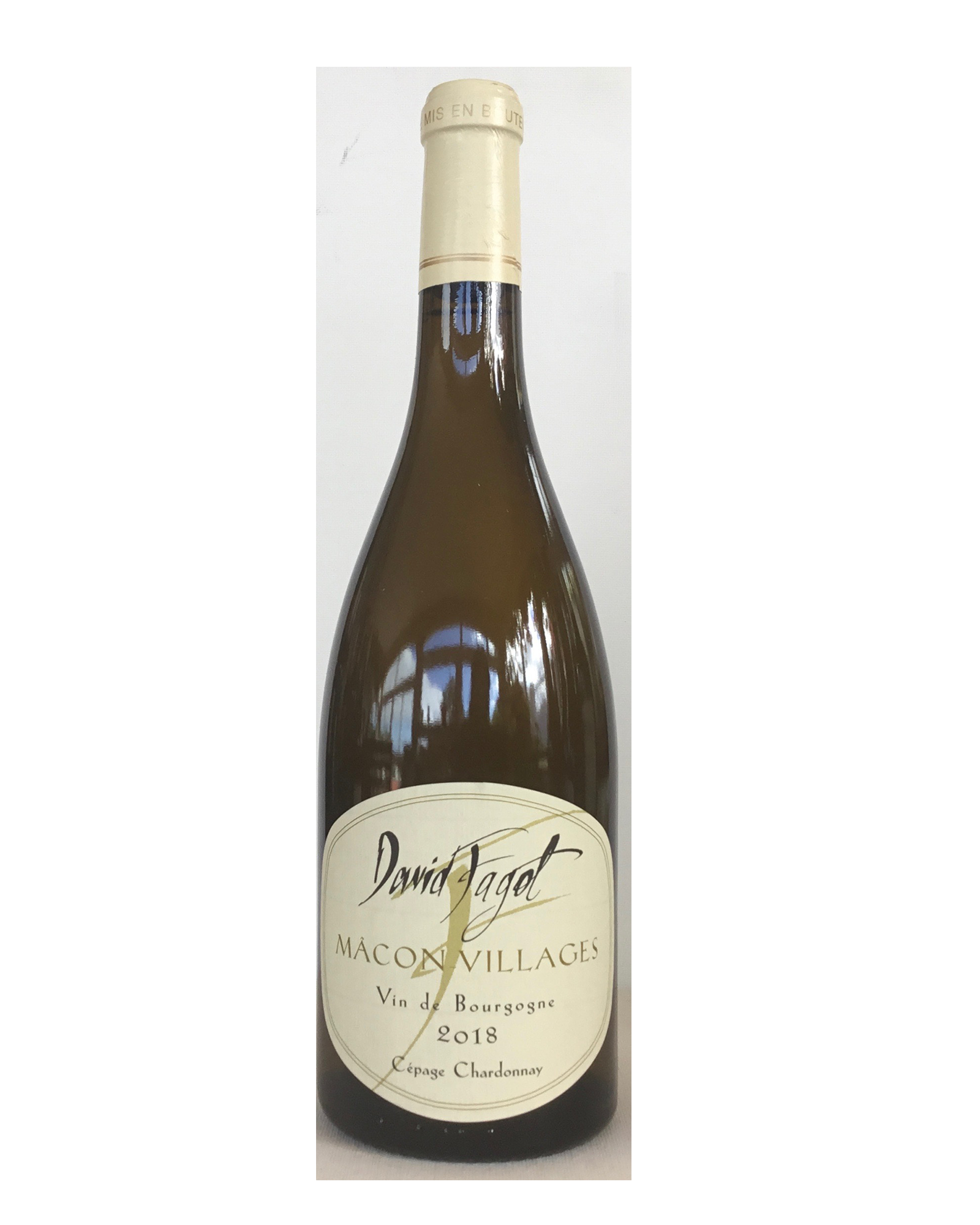 Macon Villages blanc Domaine David Fagot 2018