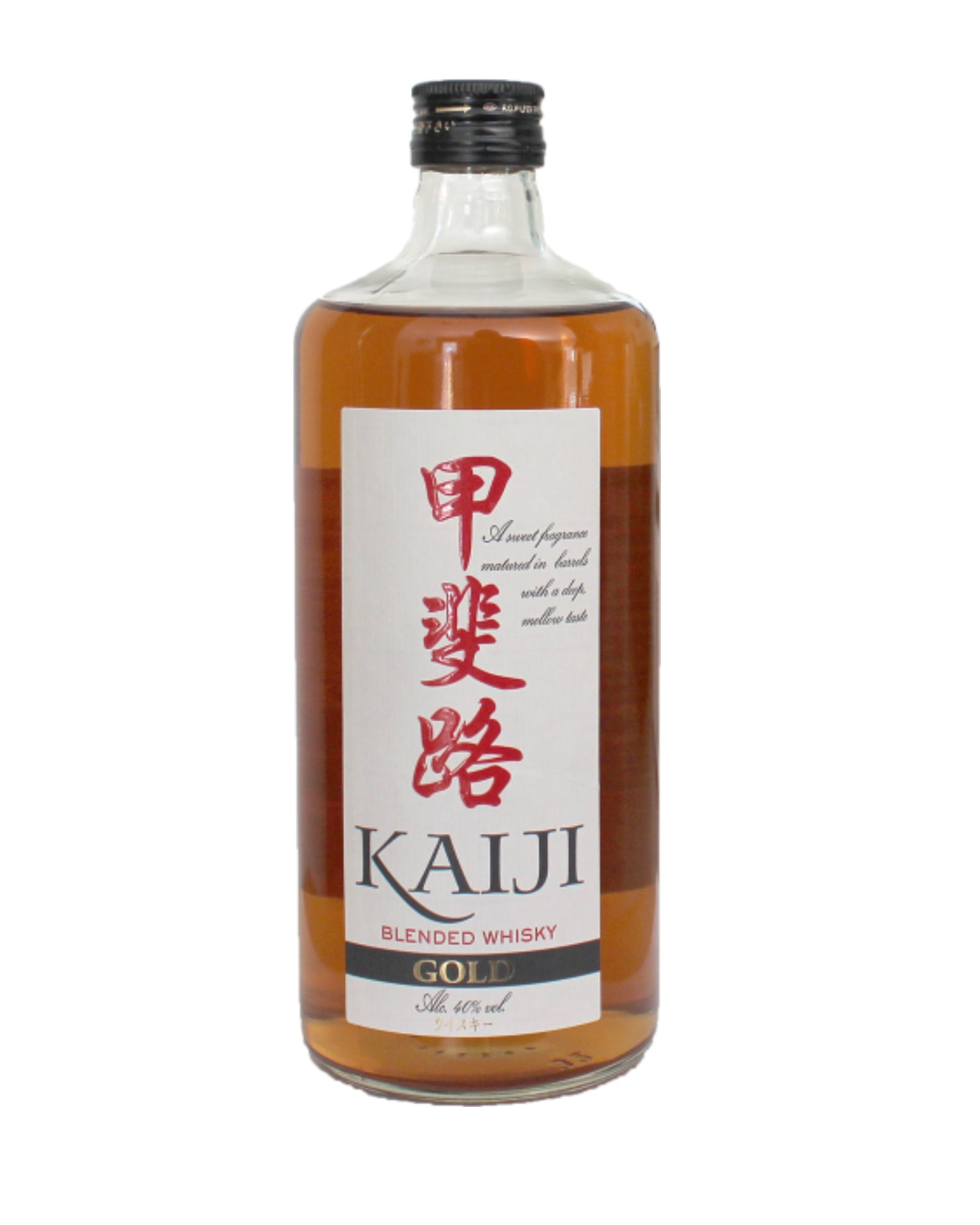 WHISKY JAPONAIS BLENDED KAIJI GOLD 70cl