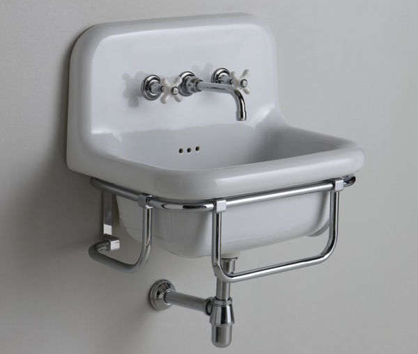 Griferia lavabo de pared RETRO