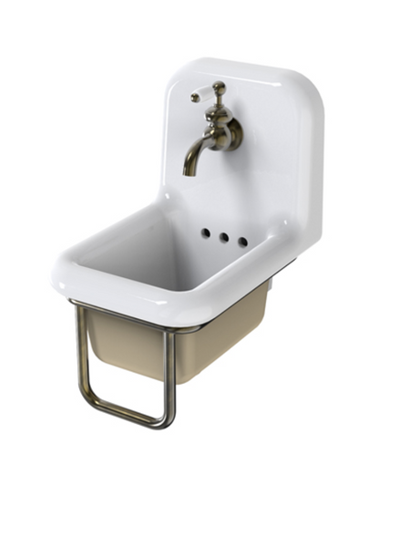 Lavabo cerámica estilo Retro True Colors mini 26cm